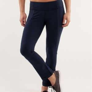 Lululemon Coast to Class Luon Pants Navy Inkwell 8
